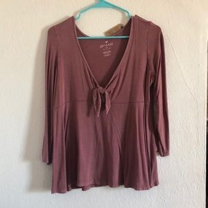 "American Eagle ""soft & sexy"" long sleeve top"